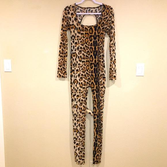 Leg Avenue Women's Sexy Cougar Catsuit Costume